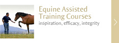Equine Assisted Training Courses - inspiration, efficacy, integrity